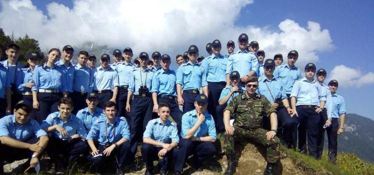 Elevii sergenţi cantemirişti, în prima tabără de pregătire militară