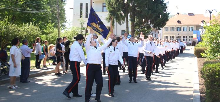 "Final de an şcolar la Colegiul Naţional Militar ""Dimitrie Cantemir"""