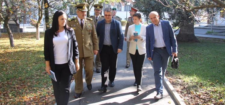 Vizita unei delegații din Republica Moldova